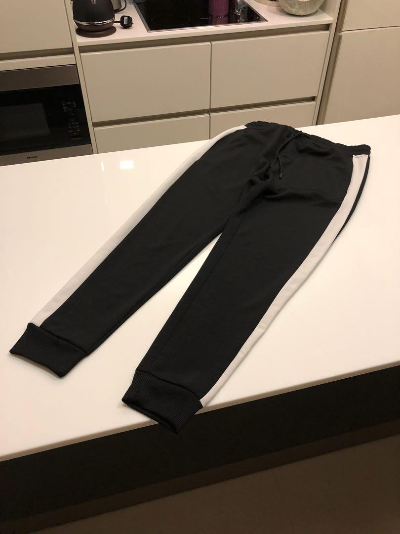 Pull & bear Side strip track pants