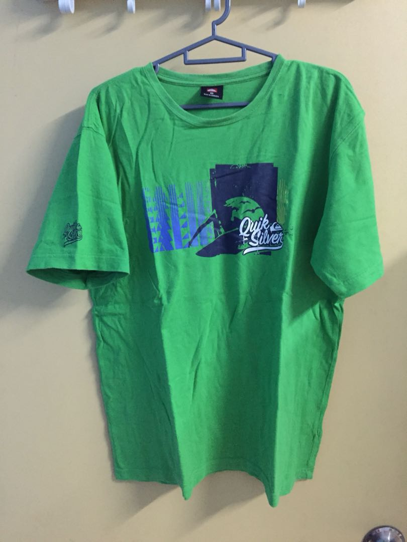 be5c3265 Quiksilver T-Shirt, Men's Fashion, Clothes, Tops on Carousell