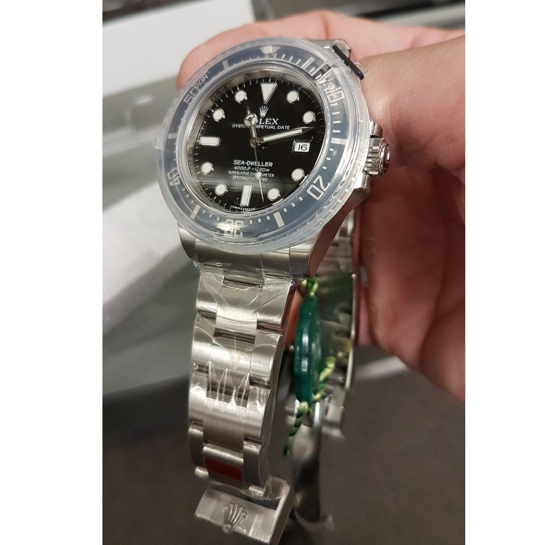 4a4e30f239e Rolex Sea-Dweller 4000 SD4K Ceramic 40mm 116600 BNIB, Luxury ...