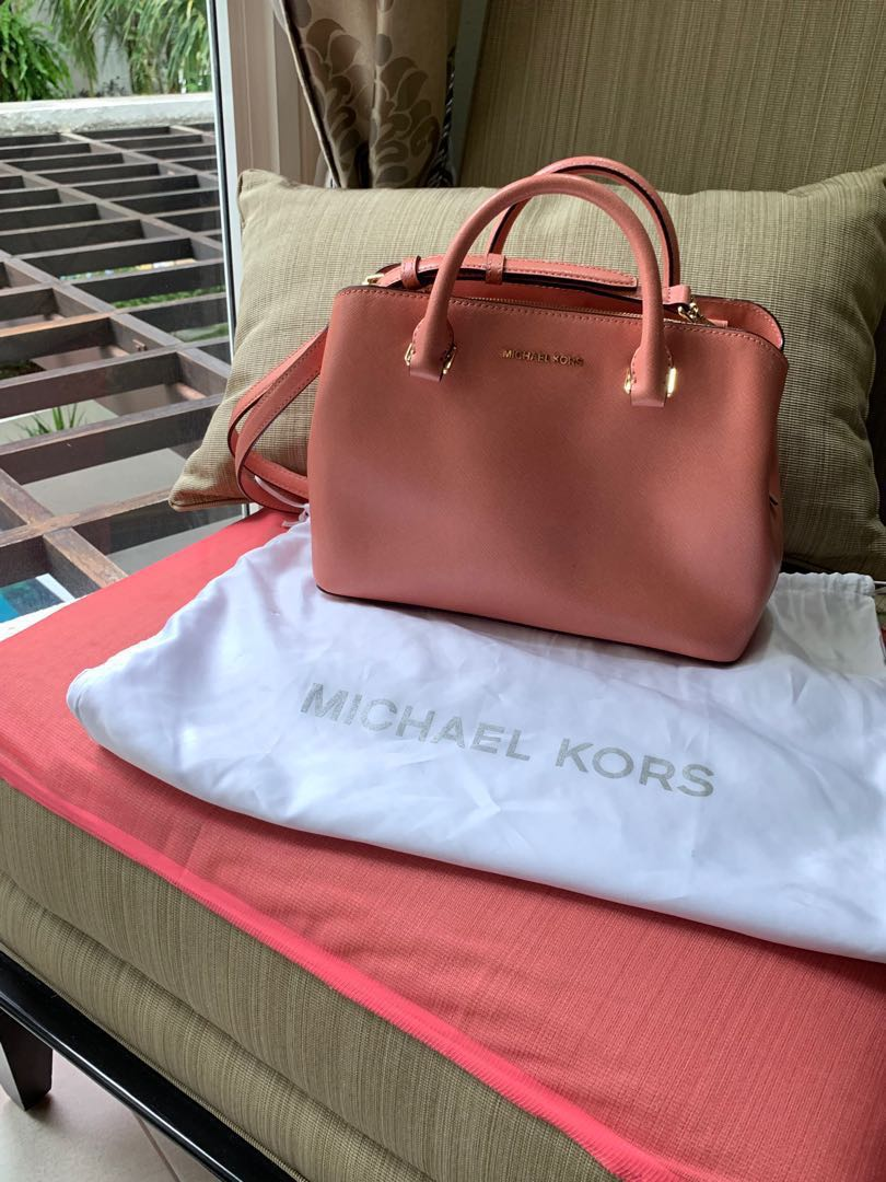 675eb264d486 Sale! Michael Kors Peach Cross Body Bag