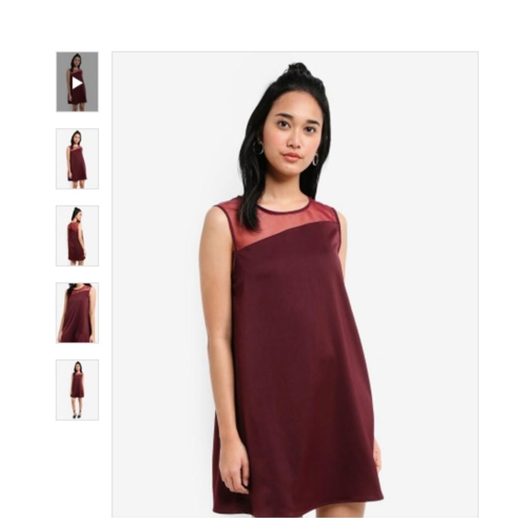 8d181dc2cbe7 Something Borrowed Asymmetric Sleeveless Swing Dress
