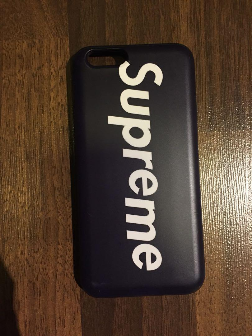 Supreme Iphone 6/6s Casing (with Card Holder) [fake], Mobile