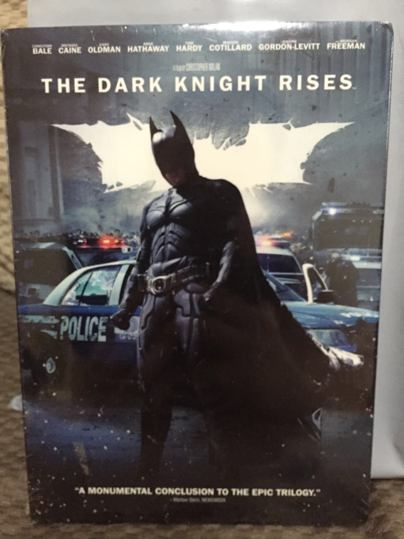 The Dark Knight Rises (unopened, shrink wrapped)