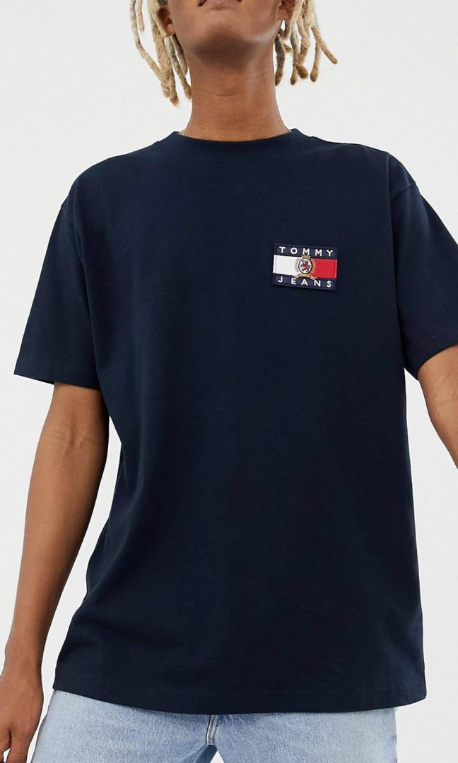b5861b51a136 Tommy Jeans 6.0 Capsule T-shirt with Crest