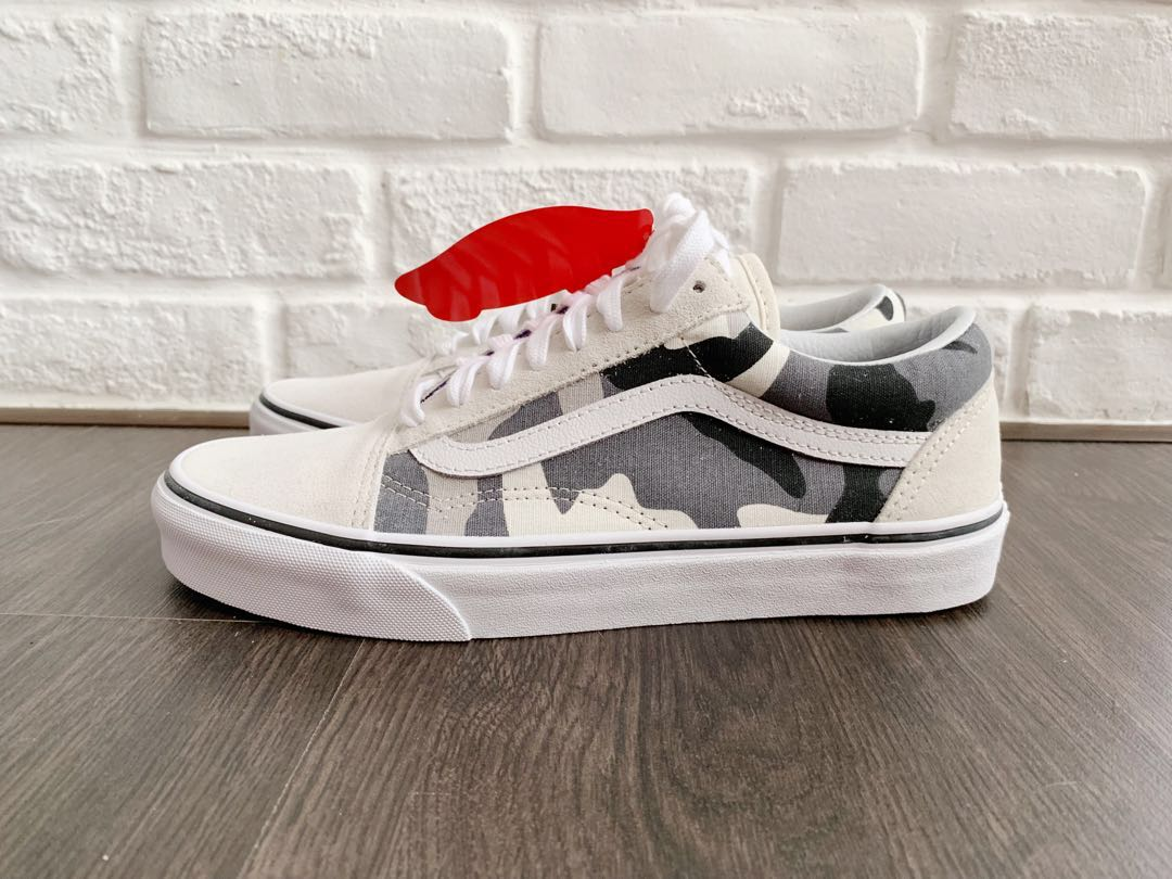 Vans Old Skool Snow Camo - RARE 6031f98fa