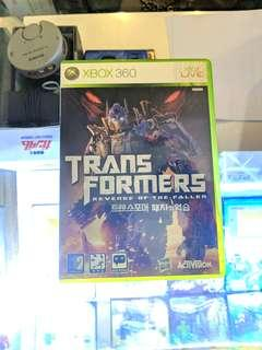 XBOX360 TTANS FORMERS