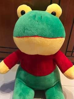Boneka kodok frog besar