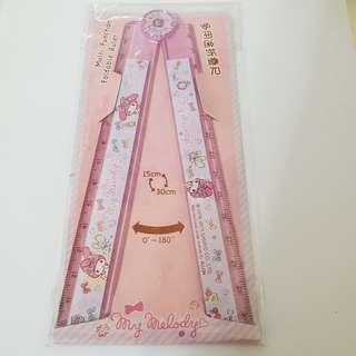 Sanrio License Foldable Ruler My Melody
