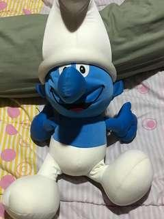Boneka smurfs besar