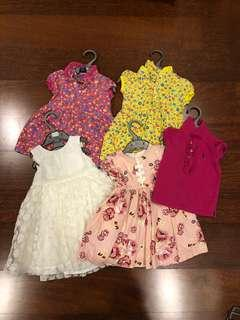 Set of branded clothes (Ralph Lauren, Mothercare, Pumpkin Patch)