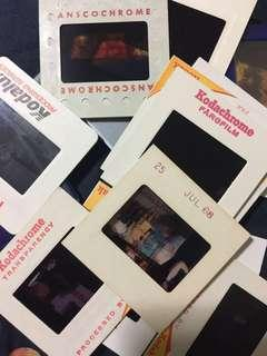 Vintage Kodachrome Films Lot - People
