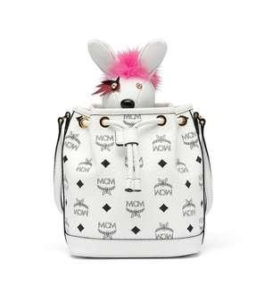 Mcm Rabbit drawstring bucket bag (Limited Edition)