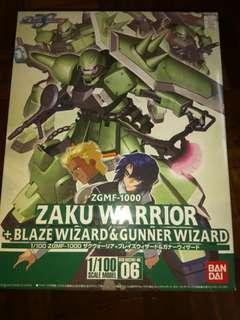 Gundam Seed Destiny Zaku Warrior Blaze Wizard & Gunner Wizard