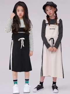 🚚 預購「90-170碼親子裝母女裝棉質吊帶連身洋裝童裝」