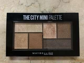 Maybelline the city eye makeup palette