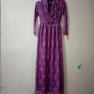 Dress Brokat cantik