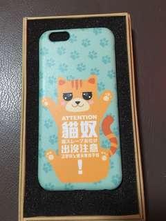 貓咪 貓奴 iphone 6 6s 硬case