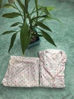 A pair of cozy, comfy and fleecy pyjama