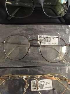 Clear Fashion Glasses - No Prescription