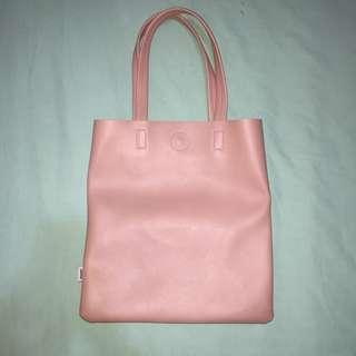 Miniso leather tote bag