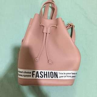Miniso pink back pack