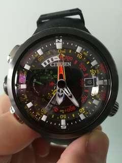 Citizen Promaster Altichron Cirrus Titanium BN4035-08E Special 3D Dial