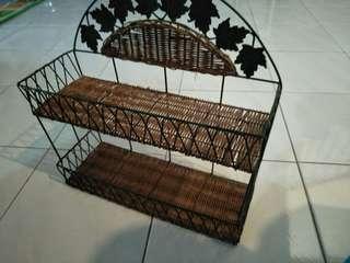 Hanging decor basket