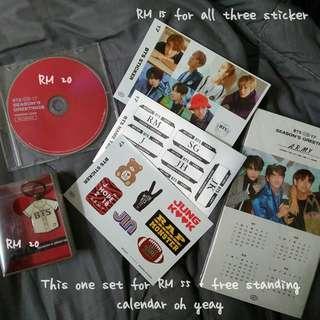 BTS Season Greeting 2017 loose item