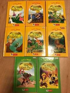 Robin readers level 2 (5 books) Nd level 1 (7 books)