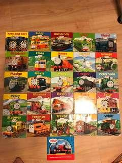 Thomas and friends collection (27 books) and 1 chugginton book