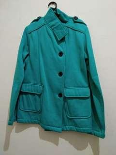 Sweater hijau tosca