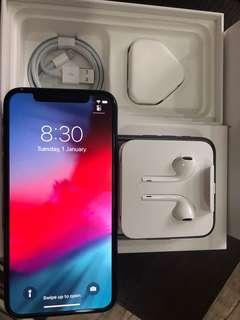 iPhone X 256GB space grey for sale. Selling mint condition.