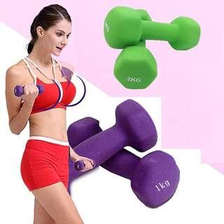 lady dumbell