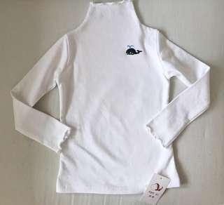 Brand new thickened winter turtle neck long sleeved tops