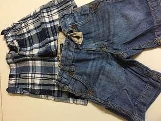 3T Authentic GAP shorts for boys