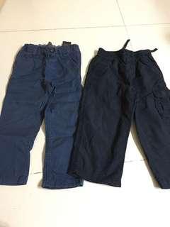 2T Authentic GAP and H&M pants
