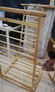 Katil baby Baby Cot dengan tilam tebal