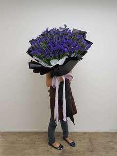 Statice giant bouquet