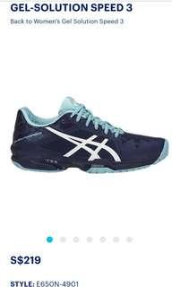 (New with tag)Asics sports shoes