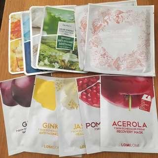 $5 for 11 Sheet masks past best before date