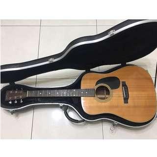 木吉他硬盒(不賣吉他,賣硬盒)