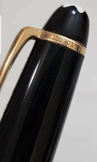 Montblanc 18k ballpoint pen , retail now at $550  i letting go @$300.