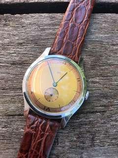 Vintage ABRA 2-tone dress watch