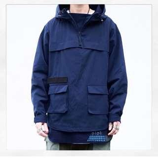 Type-R Functional Anorak Jacket 深藍1號