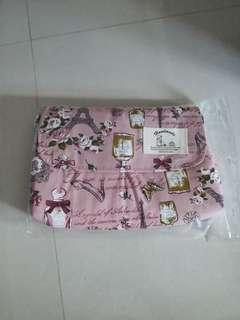Pink Flower Sling Bag