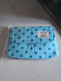 Pokka Dots Blue Sping Bag