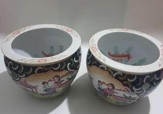 1 pair flower pot