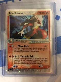 Blaziken Ex 89/95 Pokemon Card - NM