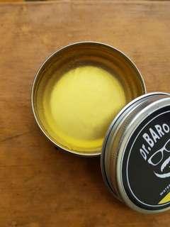 Waterbased Pomade Dr.Baron Vanilla Natural Medium Hold