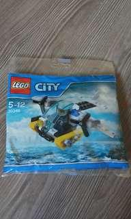 New LEGO 30346, PRISON ISLAND HELICOPTER